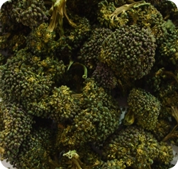 Dried broccoli