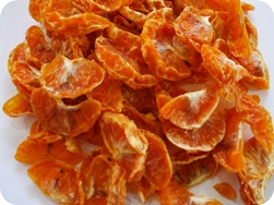 Dried mandarin